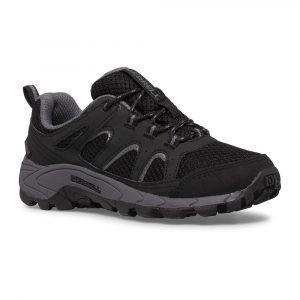 Merrell Oakcreek Lace Waterproof Runners Black/Grey