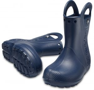 Crocs Kids 'Handle It' Rain Boots Navy