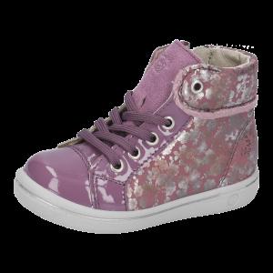 Ricosta Chilbie Girls Ankle Boots Purple/Flower