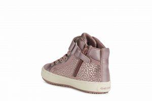 Geox Kalispera Girls Ankle Boots Pink Shimmer