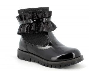 Primigi 8367911 Girls Boots Black Patent