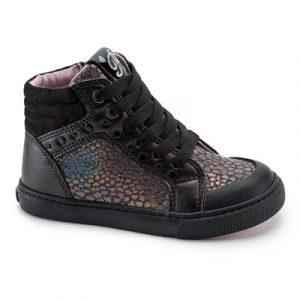 Pablosky 966110 Girls Ankle Boots Black/Multicolour