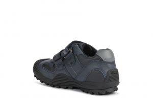 Geox JR Savage Boys Uniform Shoes Navy/Grey