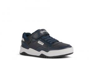 Geox J Perth Boys Sneakers Navy/Lt Grey